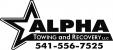 ALPHA TOWING - Logo